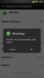 HTC One - Applications - Comment désinstaller une application - Étape 7