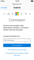 Apple iPhone SE - iOS 10 - E-mail - Configuration manuelle (outlook) - Étape 8