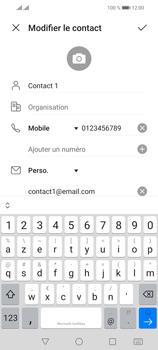 Huawei P Smart 2021 - Contact, Appels, SMS/MMS - Ajouter un contact - Étape 10