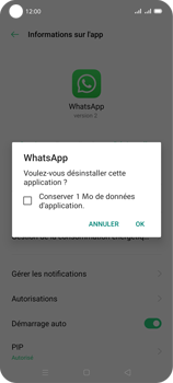 Oppo A72 - Applications - Supprimer une application - Étape 8