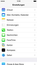 Apple iPhone 5 mit iOS 7 - Anrufe - Rufumleitungen setzen und löschen - Schritt 3