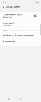 Samsung Galaxy Z Flip Single-SIM + eSIM (SM-F700F) - SMS - Handmatig instellen - Stap 8