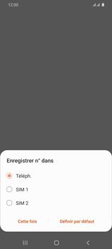 Samsung Galaxy S20 Ultra - Contact, Appels, SMS/MMS - Ajouter un contact - Étape 6