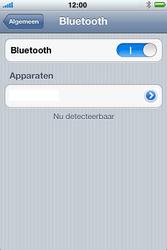 Apple iPhone 4 S - Bluetooth - koppelen met ander apparaat - Stap 8