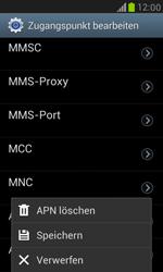 Samsung Galaxy S3 Mini - MMS - Manuelle Konfiguration - 14 / 17