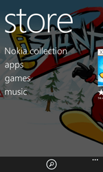 Nokia Lumia 820 / Lumia 920 - Applications - Setting up the application store - Step 4
