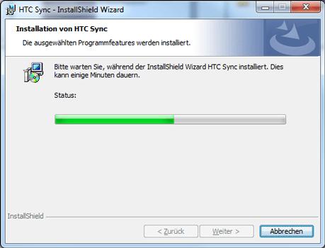 HTC Desire X - Software - Installieren von Software zur PC-Synchronisierung - Schritt 11
