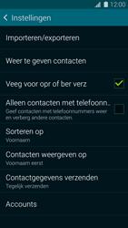 Samsung Galaxy S5 mini 4G (SM-G800F) - Contacten en data - Contacten kopiëren van toestel naar SIM - Stap 7