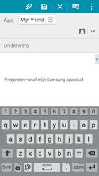 Samsung A500FU Galaxy A5 - e-mail - hoe te versturen - stap 8