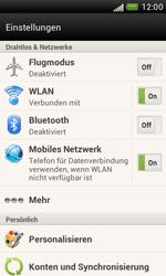 HTC Desire X - Internet - Manuelle Konfiguration - 5 / 23