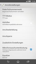 Sony Xperia Z2 - Anrufe - Rufumleitungen setzen und löschen - Schritt 5