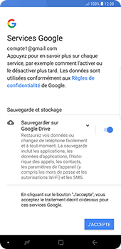 Samsung Galaxy Note9 - E-mail - 032a. Email wizard - Gmail - Étape 12