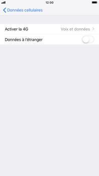 Apple iPhone 8 Plus - iOS 12 - Réseau - Changer mode réseau - Étape 5