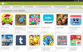Samsung Galaxy Tab S 10.5 4G (SM-T805) - Applicaties - Downloaden - Stap 12