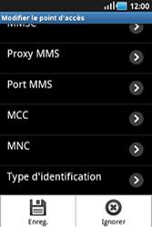 Samsung S5830 Galaxy Ace - MMS - configuration manuelle - Étape 12