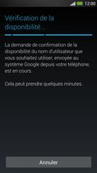 HTC One - Applications - Créer un compte - Étape 9