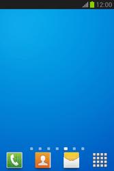 Samsung Galaxy Fame Lite - Operazioni iniziali - Installazione di widget e applicazioni nella schermata iniziale - Fase 12