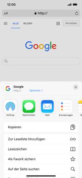Apple iPhone 12 Pro Max - Internet und Datenroaming - Verwenden des Internets - Schritt 17
