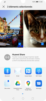Huawei P Smart 2020 - Photos, vidéos, musique - Envoyer une photo via Bluetooth - Étape 9