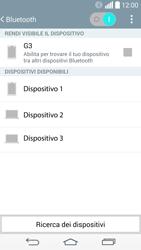LG G3 - Bluetooth - Collegamento dei dispositivi - Fase 7