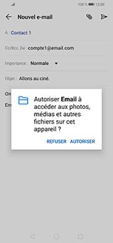 Huawei P30 lite - E-mails - Envoyer un e-mail - Étape 12
