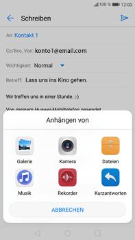 Huawei Mate 9 - E-Mail - E-Mail versenden - Schritt 11