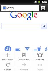Sony ST27i Xperia Go - Internet - Internet browsing - Step 5