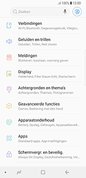 Samsung Galaxy S8 - Android Oreo - Bellen - in het binnenland - Stap 4