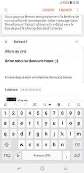 Samsung Galaxy Note 8 - E-mails - Envoyer un e-mail - Étape 19
