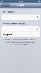 Apple iPhone 5 - E-mail - Handmatig instellen - Stap 16