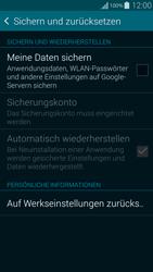 Samsung Galaxy Alpha - Fehlerbehebung - Handy zurücksetzen - 0 / 0