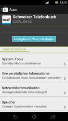 Sony Xperia T - Apps - Installieren von Apps - Schritt 8