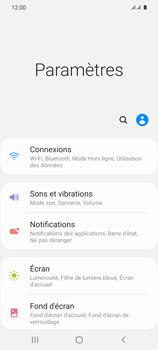 Samsung Galaxy S20 5G - Internet et roaming de données - Comment vérifier que la connexion des données est activée - Étape 4