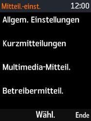 Nokia 3310 - SMS - Manuelle Konfiguration - 6 / 11