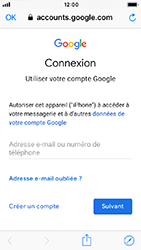 Apple iPhone 5s - iOS 12 - E-mail - Configuration manuelle (gmail) - Étape 6