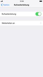 Apple iPhone 7 - iOS 12 - Anrufe - Rufumleitungen setzen und löschen - Schritt 6