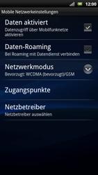 Sony Ericsson Xperia X10 - Ausland - Im Ausland surfen – Datenroaming - Schritt 8