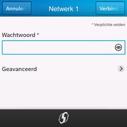 BlackBerry Q10 - WiFi - Handmatig instellen - Stap 9