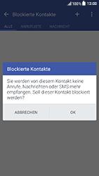 HTC One A9s - Anrufe - Anrufe blockieren - Schritt 11