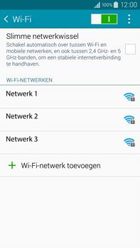 Samsung Galaxy Note 4 - wifi - handmatig instellen - stap 6