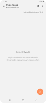 Samsung Galaxy A80 - E-Mail - Konto einrichten - Schritt 5