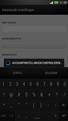 HTC One Mini - E-mail - Account instellen (IMAP met SMTP-verificatie) - Stap 12