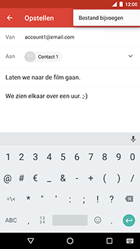 Android One GM5Plus DS - E-mail - hoe te versturen - Stap 10