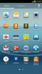 Samsung Galaxy S III LTE - Internet und Datenroaming - Prüfen, ob Datenkonnektivität aktiviert ist - Schritt 3