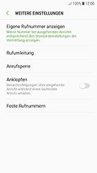 Samsung Galaxy A5 (2017) - Android Oreo - Anrufe - Rufumleitungen setzen und löschen - Schritt 8
