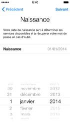 Apple iPhone 5 (iOS 8) - Premiers pas - Créer un compte - Étape 14