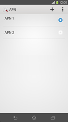 Sony Xperia Z1 Compact - Internet et roaming de données - Configuration manuelle - Étape 17