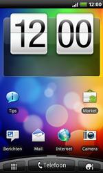 HTC S510e Desire S - internet - hoe te internetten - stap 1