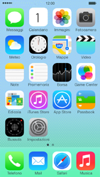 Apple iPhone 5c - Internet e roaming dati - Configurazione manuale - Fase 1
