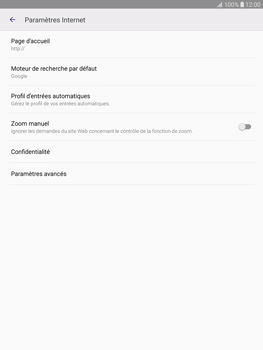 Samsung T815 Galaxy Tab S2 9.7 - Internet - Configuration manuelle - Étape 25